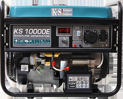 Бензиновый генератор KS 10000E