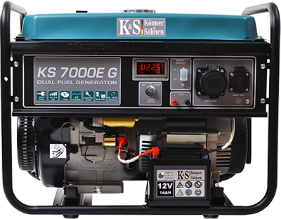 Газобензиновый генератор KS 7000E G