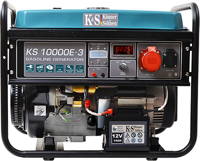 Трёхфазный бензиновый генератор KS 10000E-3