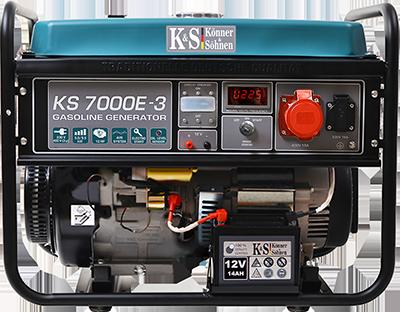 Трёхфазный бензиновый генератор KS 7000E-3