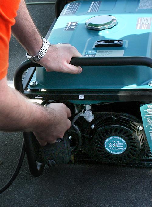 Инверторный генератор спец