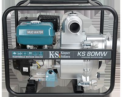 Мотопомпа для сильно забрудненої води KS 80MW