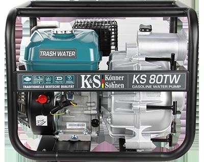 Мотопомпа для брудної води KS 80TW